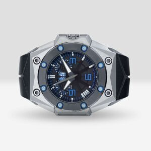 Linde Werdelin Oktopus Double Date Blue Watch