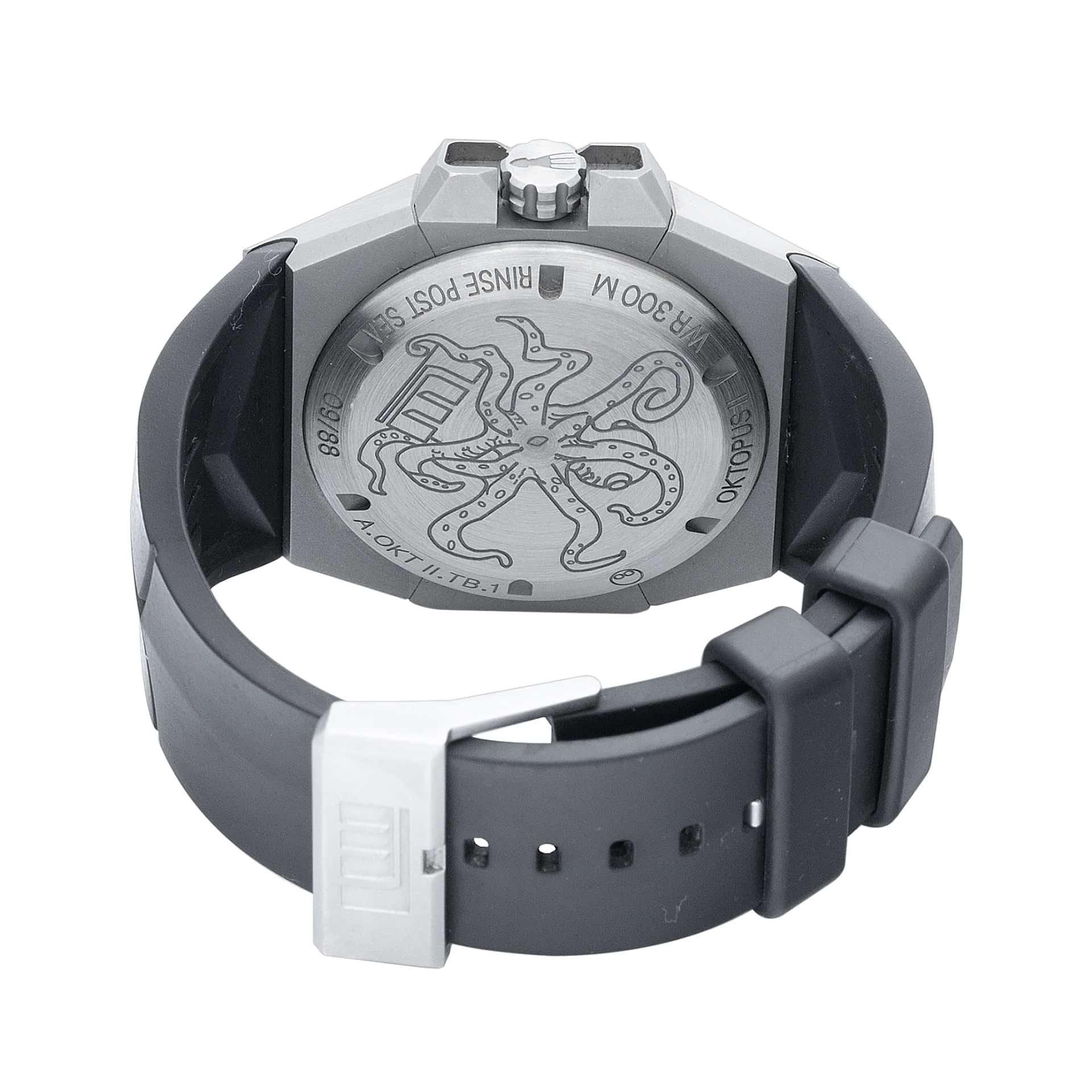 Linde Werdelin Oktopus Double Date Blue Watch