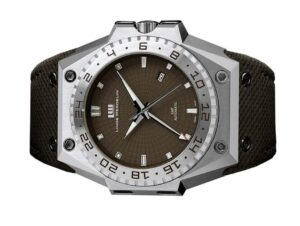 Linde Werdelin Biformeter 3 Timer Brown Watch
