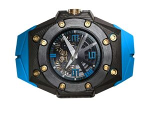 Linde Werdelin Oktopus Double Date 3DTP Blue Watch
