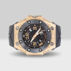 Linde Werdelin pre-owned Oktopus moon tattoo vintage watch