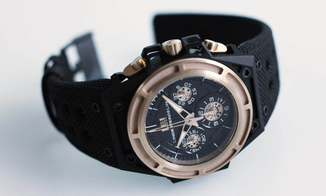 Spidospeed Linde Werdelin pre-owned watch